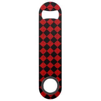 Motif rouge de contrôleur de diamant de noir et de