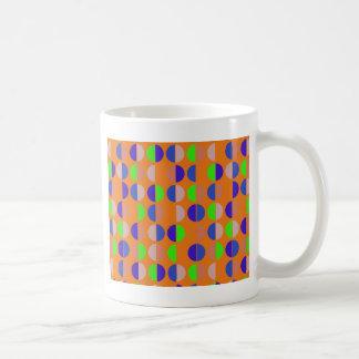 Motif sans couture coloré de point de polka mug