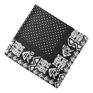 Motif sans couture ethnique américain de vecteur bandana