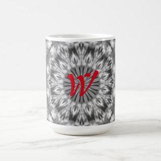 Motif tribal indigène fait sur commande noir/blanc mug