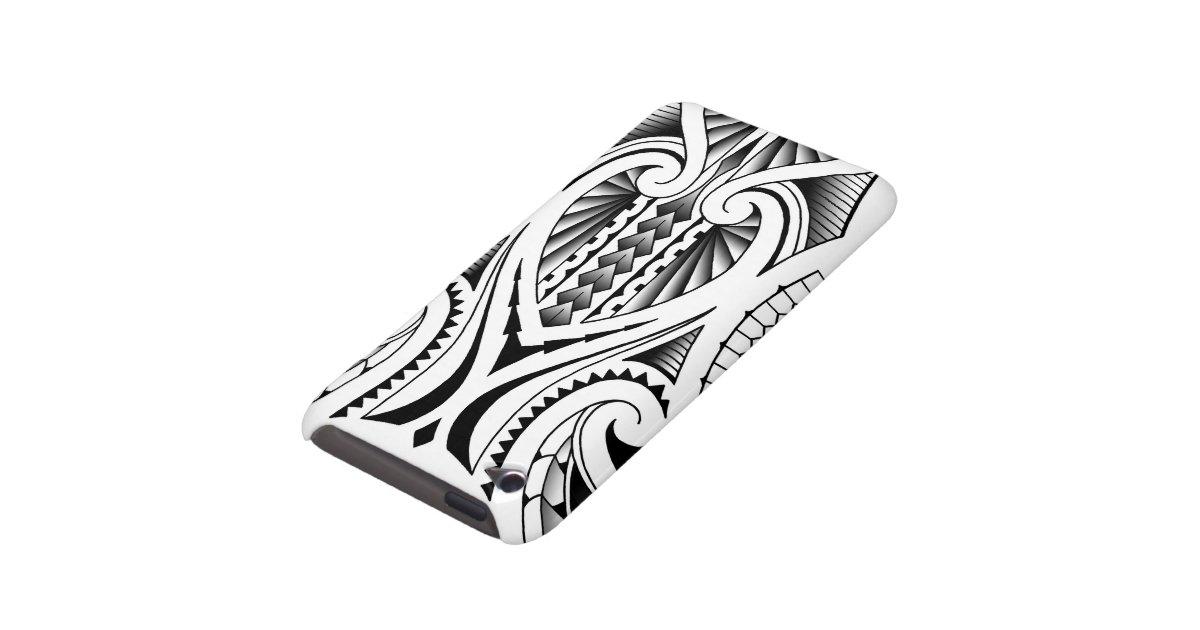 Motif tribal maori/polynésien de tatouage étuis barely