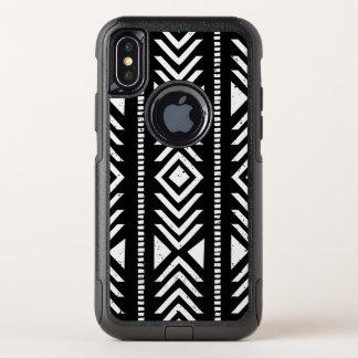 Motif tribal noir et blanc frais