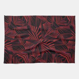 Motif tribal pointu serviettes pour les mains