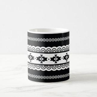 Motif tribal sans couture aztèque traditionnel mug