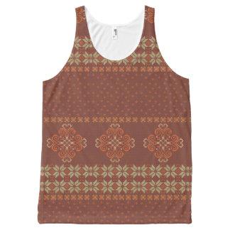 Motif tricoté par Noël Débardeur Tout-imprimé