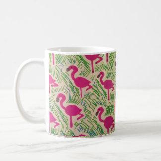 mugs motif rose flamant. Black Bedroom Furniture Sets. Home Design Ideas