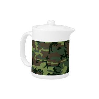 Motif vert de Camo Brown de camouflage