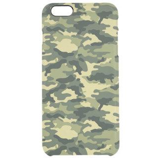 Motif vert de camouflage coque iPhone 6 plus