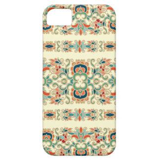 Motif vintage de conception de fleur coque Case-Mate iPhone 5