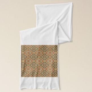 Motif vintage de turc foulard