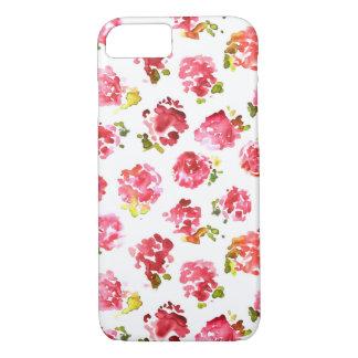 Motif vintage rose mignon et élégant de roses coque iPhone 7