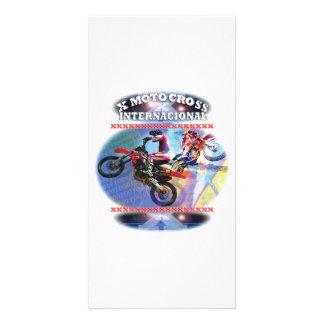 Motocross Cartes Avec Photo