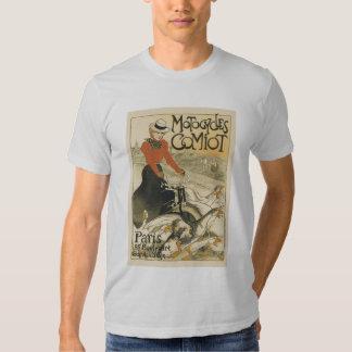 Motocycles-comiot de ~ de Theophile-Alexandre Tee Shirts