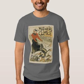 ~ Motocycles Comiot de Theophile-Alexandre Tshirts