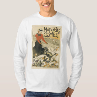 Motocycles Comiot par Theophile-Alexandre Steinlen Tshirts