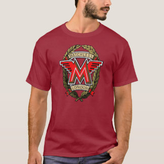 Motos incomparables vintages de Londres T-shirt