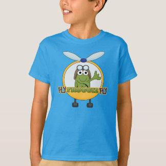 Mouche de Froggie de mouche - hélicoptère T-shirt
