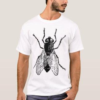 Mouche et larve de cheval t-shirt