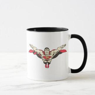 Mouches de Superman en avant Mug