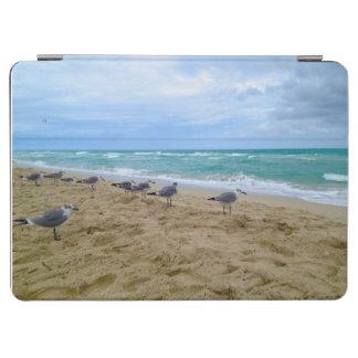 Mouettes sur la plage protection iPad air