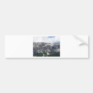 Mountain View panoramique Autocollant De Voiture