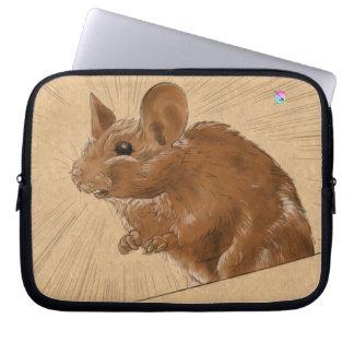 Mouse laptop sleeve by Coyau ! Trousses Ordinateur