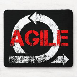 Mousepad agile (style vintage) tapis de souris