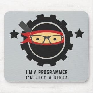 mousepad de programmeur : je suis comme un ninja tapis de souris