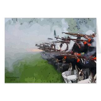 Mousquets de mise à feu d'infanterie carte