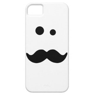 Moustache Barely There iPhone 5 Hoesje