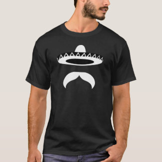 Moustache mexicaine t-shirt