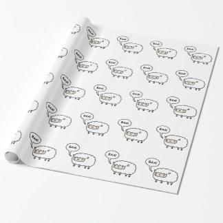 Moutons ! papier cadeau