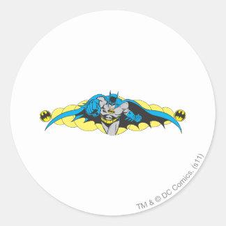 Mouvements brusques de Batman en avant Sticker Rond