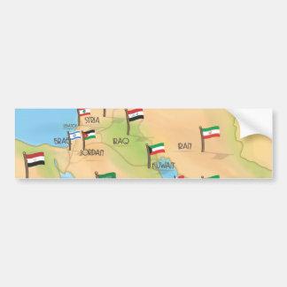 Moyen-Orient Autocollant De Voiture