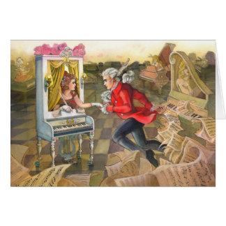 Mozart trouve sa carte de voeux de Muse