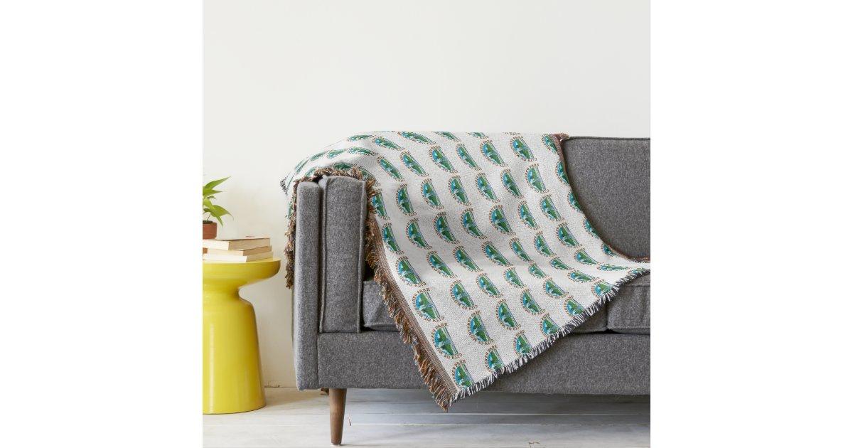 mpkseal cascades couvre pied de lit zazzle. Black Bedroom Furniture Sets. Home Design Ideas