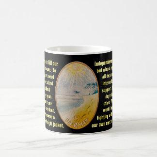 Mug 09. L'ermite - tarot de marin