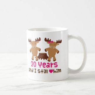 Mug 20ème Cadeau d'anniversaire pour elle