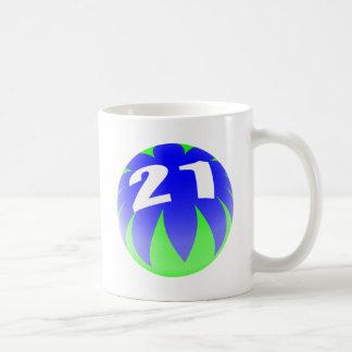 Mug 21ème Anniversaire