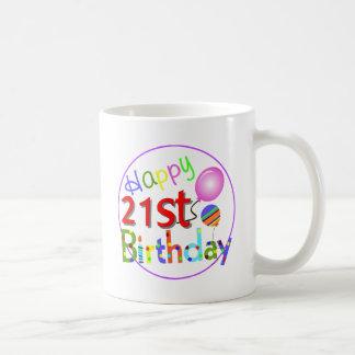 Mug 21èmes salutations d'anniversaire