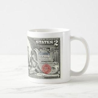Mug 2 billet d'un dollar