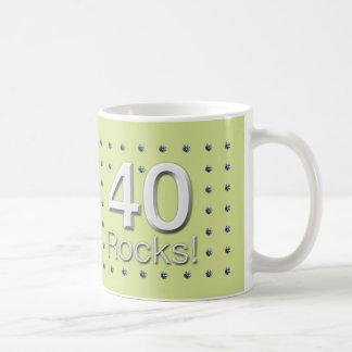 Mug 40 roches !