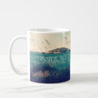 Mug à l'intérieur de tous les nous est l'aventure
