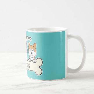 Mug A obtenu d'aimer Akitas