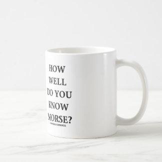Mug À quel point connaissez-vous Morse ? (Code Morse