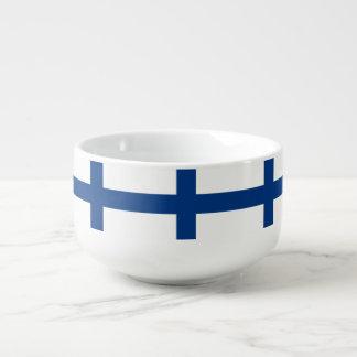 Mug À Soupe Drapeau de la Finlande