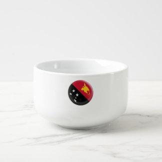 Mug À Soupe Drapeau de la Papouasie-Nouvelle-Guinée