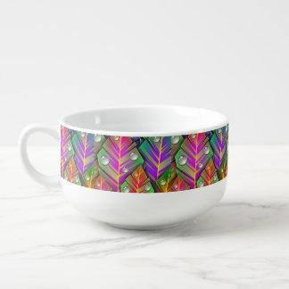 Mug À Soupe Feuille coloré