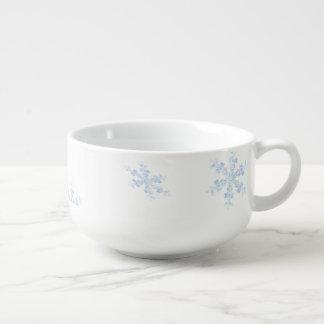 Mug À Soupe Flocons de neige