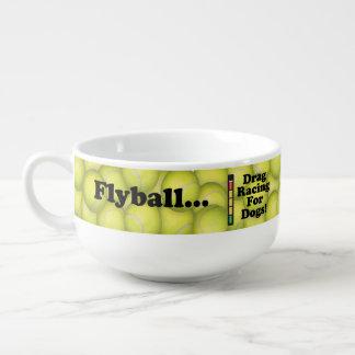 Mug À Soupe Flyball est entrave emballant pour des chiens !